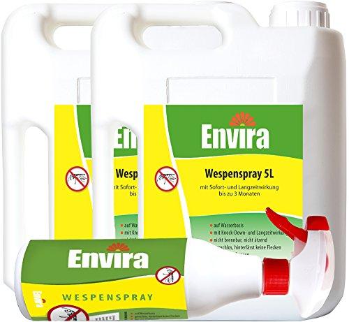 ENVIRA Wespenschutzmittel 2x5Ltr + 500ml