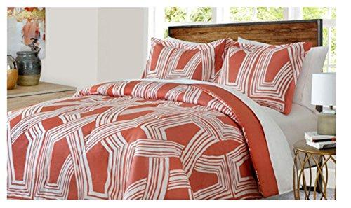 welspun USA Inc softesse Gitter Mini Comforter Set 3Stück Queen