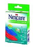 Nexcare N1120ASC Comfort - Tiritas (fijación de 360 grados, 20 unidades)