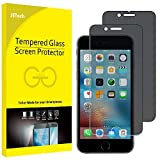 JETech Film de Protection d'écran pour iPhone 6s et iphone 6 en Verre Trempé, Anti-Espion, Lot de 2