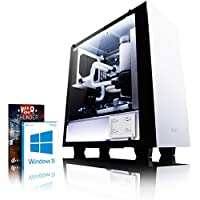 VIBOX Hardline GL780T-8 Gaming PC Ordenador de sobremesa con Cupón de juego, Win 10 (4,7GHz Intel i7 6-Core, Nvidia GeForce GTX 1080 Ti Tarjeta Grafica, 32GB DDR4 RAM, 480GB SSD, 3TB HDD)