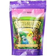 Lafeber s Gourmet Sunny Orchard Nutri-Berries for Cockatiels 10-Ounce Bag