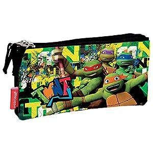 Perona 53968 Tortugas Ninja Estuches, 22 cm, Multicolor