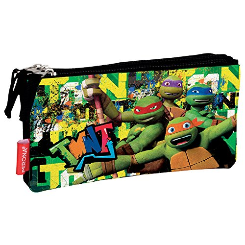 Tortues ninja 137,078.7 cm graffiti « Affaire crayon sac triple