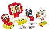 Smoby 350107 - Elektronische Supermarktkasse, XL, rot