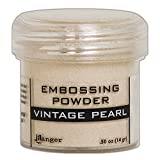 Ranger Vintage Pearl Embossing-Puder, Synthetisches Material, beige, 4,4 x 4,4 x 4,4 cm