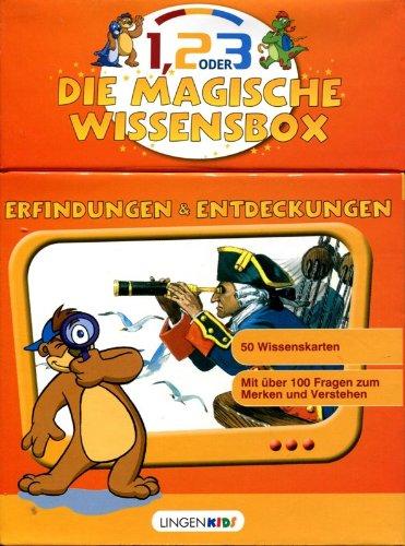 Preisvergleich Produktbild Die magische Wissensbox - Erfindungen und Entdeckungen