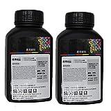 Nachfülltoner für Samsung SF 565PR 515 530 550 5100 für Lenovo 7125 für Lexmark X215 E210 Laserdrucker, Schwarz, 2 Stück
