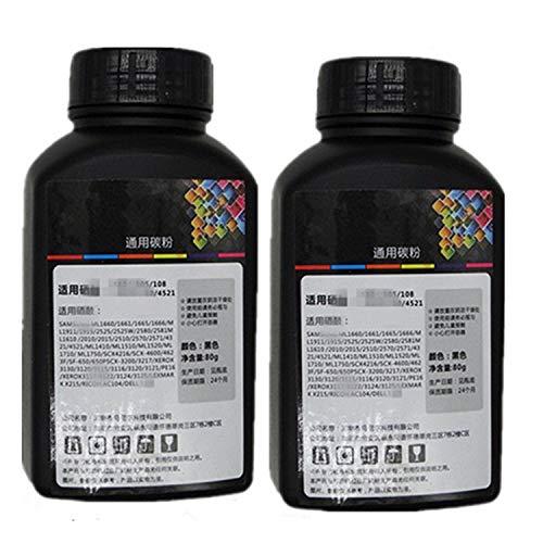 2Stück 100g Original Druckerpatrone Schwarz Refill Toner Powder Kit Kits für Canon CE16E16E20E30E31E40EP26/U EP26EP27epx25FX3FC220FC230Laser Toner Power Drucker (Toner Refill-kits)