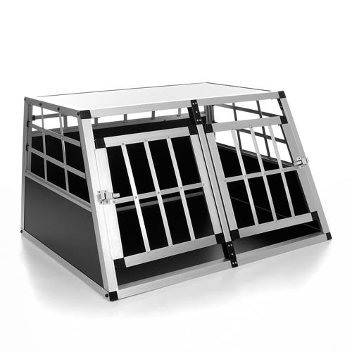 Happypet DGTC08 Hundetransportbox 69 x 89 x 50 cm Aluminium