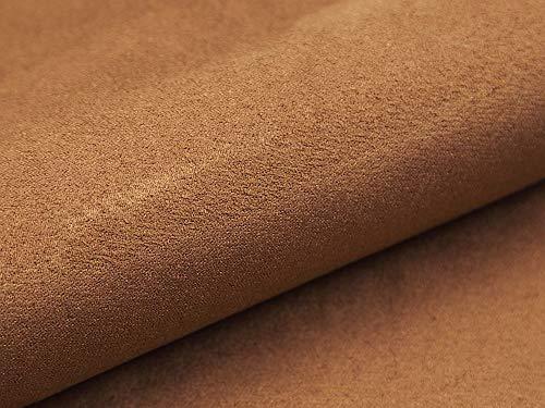 Tissu en microfibre imitation Alcala pour meubles, coussins,38 Marron