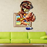 Camera da letto Adesivo online.Description: 3d Baby Kids Room Cartoon Old Man Beach Swimming Funny decalcomanie Removable Paper Stickers Art DIY Decorations ionr emovable and Dampproof, and it will come with good Packaging, CAN BE a nice Gift...