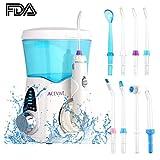 Guisee Wasser Flosser Professional Water Pick Zahnreiniger IPX6 Wasserdicht Munddusche mit 8 Tipps für den Familiengebrauch