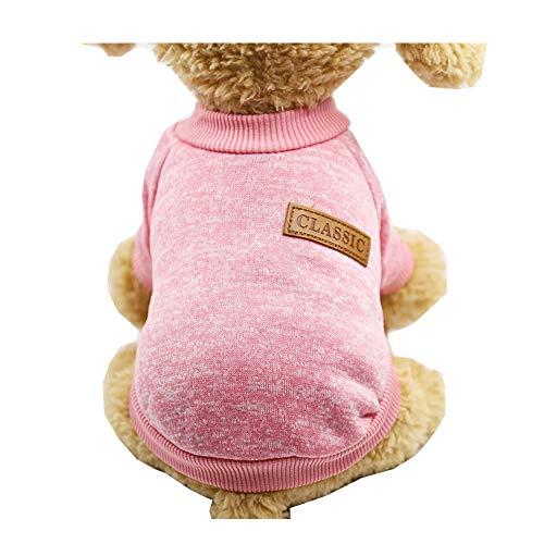 Morbuy Hund Katzen Welpe Kostüm Kapuzenpullis Stricken, Haustiere Pullover Sweater Halloween Haustier Kostüme Nettes Cosplay für Kleine Katzen Welpen (Minion Kostüm Hund)