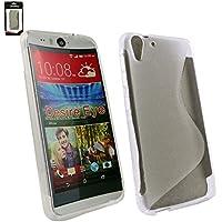 Emartbuy® HTC Desire Eye Ultra Slim Gel Hülle Schutzhülle Case Cover Clear