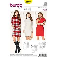 Patrón Burda 6609 Vestido