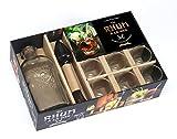 Un Rhum à la mer : Avec 1 livre, 1 bouteille, 6 verres à shot, 1 pilon presse-agrumes
