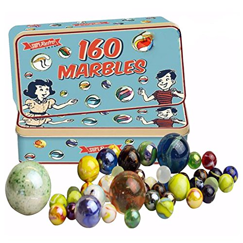 160-traditional-assorted-colorful-classic-retro-glass-marbles-in-a-tin-kids-game