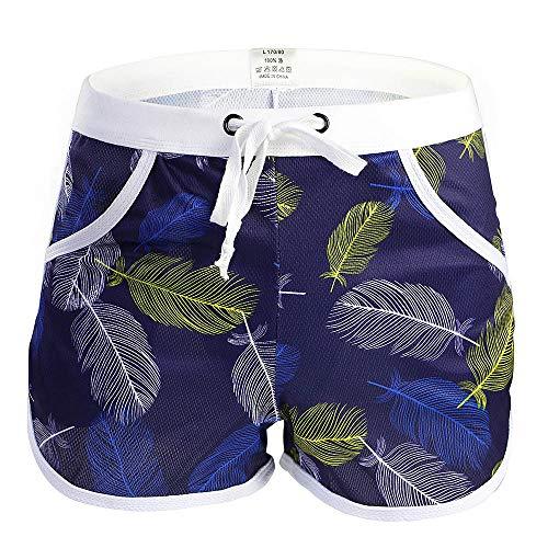 Berrose Herren Badeshorts Badehose mit Innenslip schnelltrocknend Beachvolleyball-Shorts Strandhose Schwimmhose Fast Dry