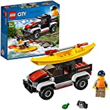 LEGO City Kayak Adventure Building Blocks for Kids (84 Pcs)60240