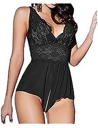 lingerie sexy,Refulgence Lingerie Passion Pizzo Deep V capestro Vestito Sexy