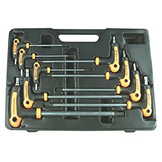 Astro Pneumatic Tool Astro 1023 T-Griff Star Wrench Set 9 Stück.