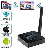 KANGLE WiFi-Display-Dongle,Wireless HDMI Mini-WLAN-Display-Receiver 1080P HDTV-Bildschirm Spiegelung Wireless Video Adapter Unterstützung Airplay DLNA Miracast Für IOS Android-Handys/Windows / Mac