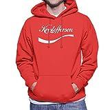 Photo de Kris Kristofferson Coke Logo Men's Hooded Sweatshirt par Coto7
