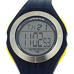 Umbro Gents / Boys Digital Multi Functional Rubber Blue Strap Sport Watch U664U