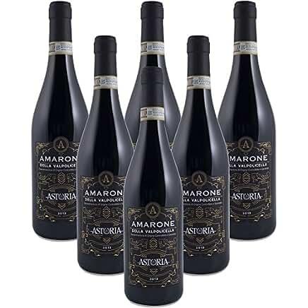 Confezione 6 bottiglie da 75 cl. Di Amarone della Valpolicella 2013 DOCG - Vino Rosso Astoria Vini Classici del Veneto
