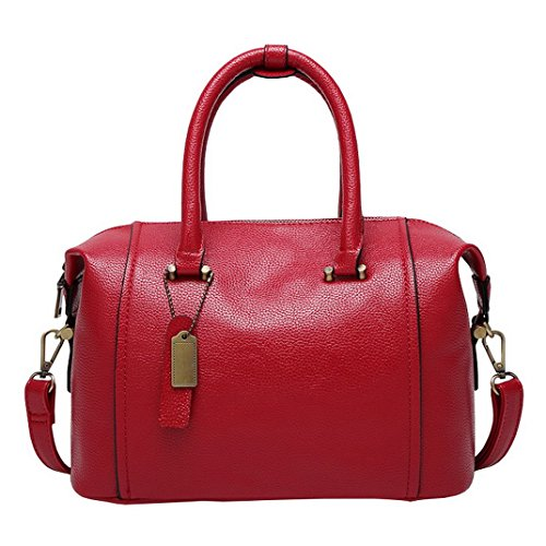 Aotela, Borsa a mano donna Size:22*29*15cm/8.7*11.4*5.9inch(H*L*W), Red (rosso) - AotelaAA-123456 Red