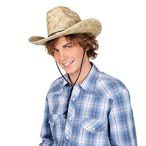 s aus Stroh, Einheitsgröße (Dallas Cowboy Kostüme Kind)