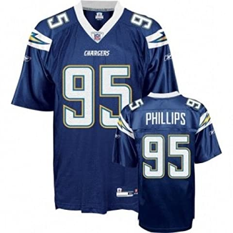 NFL Football Trikot/Jersey Premier SAN DIEGO CHARGERS Shaun Phillips #95 in SMALL (S)