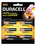 Duracell AAA Alkaline batteries are not only dependable, they're also long-lasting. They're great for many of the devices you use on a daily basis in your home. These batteries are engineered to deliver just the right level of power for most electron...