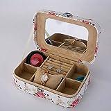 Unbekannt PU Schmuck Box Schmuck Box Tragbaren Aufbewahrungsbox Uhr Ornamente,1