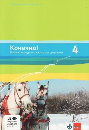 Konetschno!. Russisch als 2. Fremdsprache / Arbeitsheft mit Audio-CD und Lernsoftware zum Download