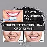 Holeider Natürliches Aktivkohle Zahnaufhellung mit Aktivkohle Pulver 30g ( activated charcoal teeth whitening ) - 7
