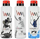 Lawman PG3 Deodorant, 450 ml (Pack of 3)