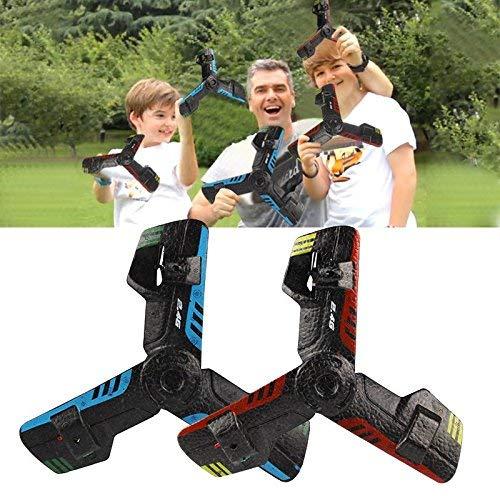 Hanbaili Fernbedienung UFO Boomerang, 360 Hoverblade wiederaufladbare fliegende Untertasse Boomerang, Delta Wing Flugzeuge fliegen Drohnen Spielzeug für Kinder Teens Mädchen Jungen