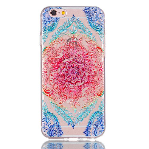 [ 3 Pack ] iPhone 6 / 6S Hülle, BENKER Kreativ Anti-Kratz Nicht Verblassen 3D Relief Malerei TPU Silikon Telefon Fall - SET 1 SET 2