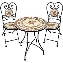 Bistrotisch Mosaik Mit Stuhlen