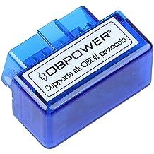 Moonar Mini ELM327 Interfaz Bluetooth V1.5 OBD-II OBD2 Auto Del Coche Herramienta de Análisis de Diagnóstico