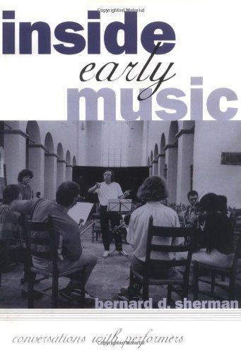 Como Descargar Un Libro Gratis Inside Early Music: Conversations with Performers Ebook PDF