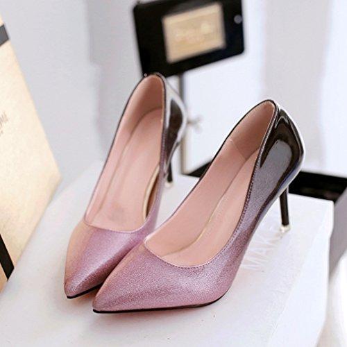 Unknown Welldone2017, Chaussures À Talons Hauts Pour Femme Rose