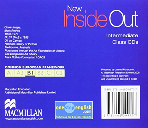 New inside out intermediate (3 cd's): Class Audio CD