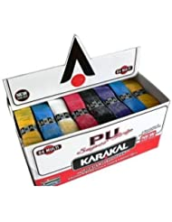 KARAKAL PU Super-Grips Box Of 24 Grip Racket MULTI Colr