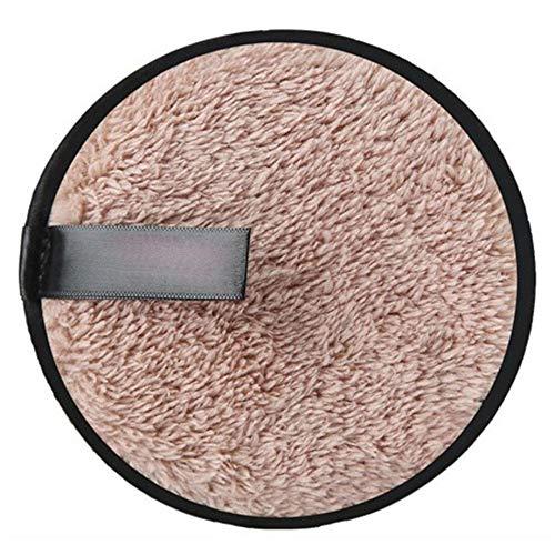 PETUNIA Soft Microfiber Makeup Remover Towel Cloth Pads Remover Towel Cleansing Towel - Coffee