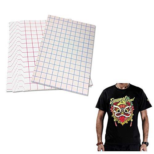 5 fogli di carta per trasferimento a caldo su magliette scure, formato 21,6 x 27,9 cm