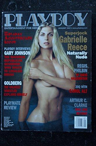 PLAYBOY US 2001 01 GOLDBERG REGIS PHILBIN