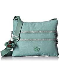 Kipling Alvar Solid Crossbody Bag, Sea Green
